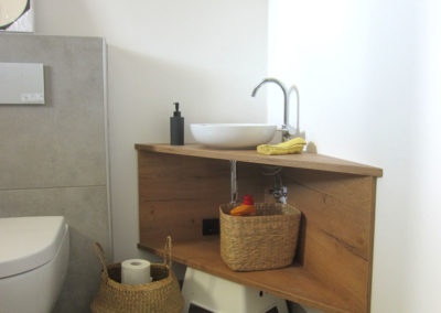 Spezialanfertigung fürs Bad